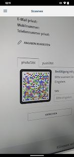 VW Financial Services photoTAN v1.5.2.0 screenshots 5