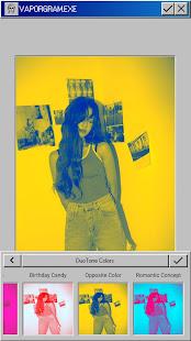Vaporgram Vaporwave VHS amp Glitch Photo Editor v screenshots 3