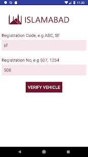 Vehicle Verification Pakistan v7.70 screenshots 2