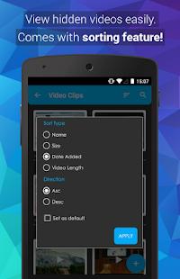Video Locker – Hide Videos v2.1.3 screenshots 3