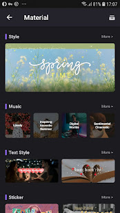 Video Maker of Photos with Music amp Video Editor v5.2.6 screenshots 7