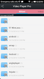 Video Player Pro for Android v6.3 screenshots 3