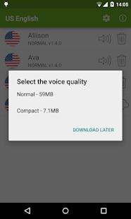 Vocalizer TTS Voice English v3.4.3 screenshots 2