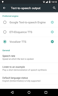 Vocalizer TTS Voice English v3.4.3 screenshots 6