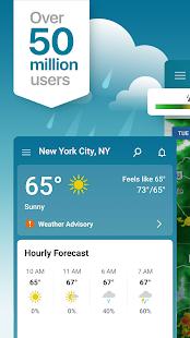 Weather Radar amp Live Widget The Weather Channel v10.35.0 screenshots 1