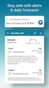 Weather Radar amp Live Widget The Weather Channel v10.35.0 screenshots 5