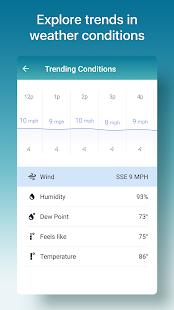 Weather Radar amp Live Widget The Weather Channel v10.35.0 screenshots 7
