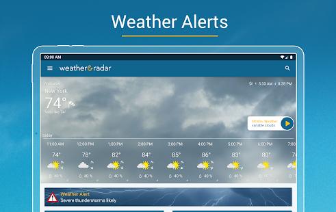 Weather amp Radar – Storm alerts v2021.16.1 screenshots 11