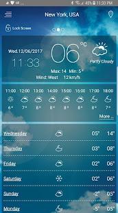Weather app v5.8 screenshots 7