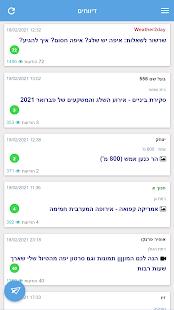Weather2day Israel Weather v2.20 screenshots 7