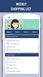 Weight gain diet and exercises in 30 days v2.0 screenshots 3