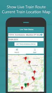 Where is my Train – Train Live Location amp Status v1.8 screenshots 3