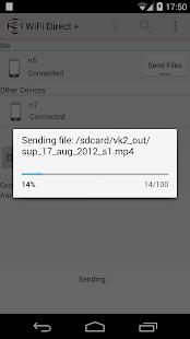 WiFi Direct v7.0.40 screenshots 6