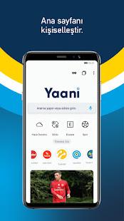 Yaani Turkeys Web Browser v8.0.4 screenshots 1