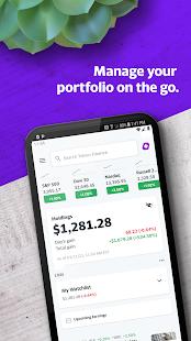 Yahoo Finance v11.2.0 screenshots 1
