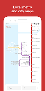 Yandex.Metro detailed metro maps and route times v3.6.3 screenshots 6