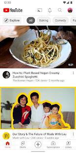 YouTube v16.30.34 screenshots 2