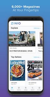 ZINIO – Magazine Newsstand v4.46.1 screenshots 1