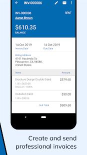 Zoho Invoice – Free Online Invoicing amp Billing App v5.23.34 screenshots 2