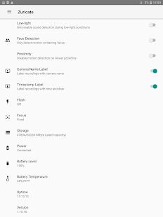 Zuricate Video Surveillance v1.12.3 screenshots 16