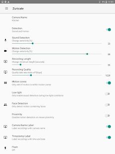 Zuricate Video Surveillance v1.12.3 screenshots 17