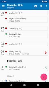 aCalendar – a calendar app for Android v2.5.3 screenshots 1