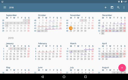 aCalendar – a calendar app for Android v2.5.3 screenshots 10