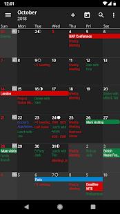 aCalendar – a calendar app for Android v2.5.3 screenshots 3