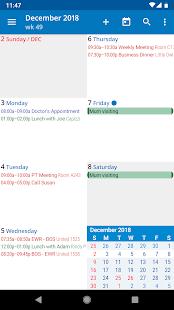aCalendar – a calendar app for Android v2.5.3 screenshots 4