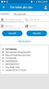 mBCCS 2.0 – Viettel Telecom v6.0.7 screenshots 6