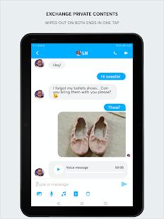 twinme – private messenger v12.1.1 screenshots 11