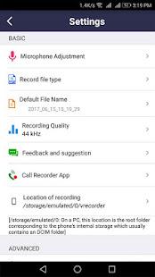 voice recorder v44.3 screenshots 13