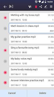 voice recorder v44.3 screenshots 15