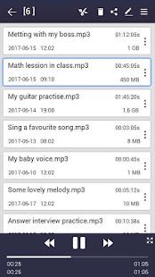 voice recorder v44.3 screenshots 3