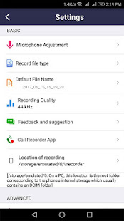 voice recorder v44.3 screenshots 5