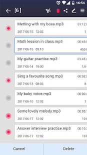 voice recorder v44.3 screenshots 7