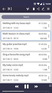 voice recorder v44.3 screenshots 8