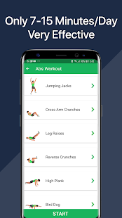 7 Minute Abs Workout – Home Workout for Men v1.19 screenshots 5