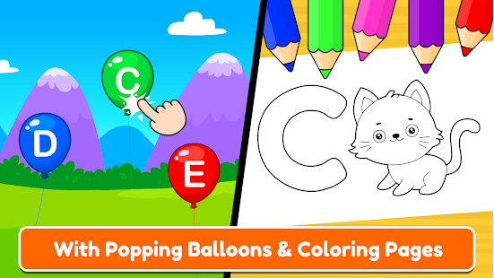 ABC Tracing amp Phonics for Preschoolers amp Kids Game v23.0 screenshots 17