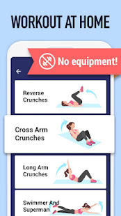 Abs Workout – Burn Belly Fat with No Equipment v1.3.2 screenshots 2