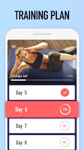 Abs Workout – Burn Belly Fat with No Equipment v1.3.2 screenshots 5