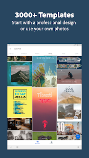 Adobe Spark Post Graphic Design amp Story Templates v6.8.0 screenshots 23