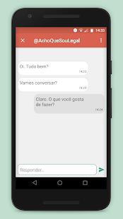 Amigo Virtual – Novas Amizades e Chat Annimo v5.41 screenshots 2