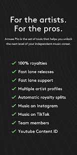 Amuse Music Distribution v3.25.8 screenshots 5