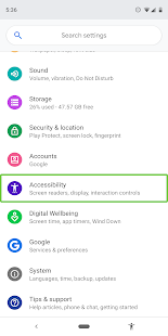 Android Accessibility Suite v9.1.0.381213067 leanback screenshots 1