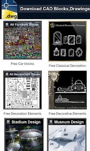 Autocad DWG Download v1.0 screenshots 1