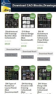 Autocad DWG Download v1.0 screenshots 2
