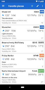 Avia Weather – METAR amp TAF v2.12.6 screenshots 1