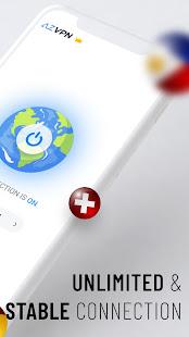 Az VPN Free Unlimited Proxy Private VPN Master v2.3.7 screenshots 2