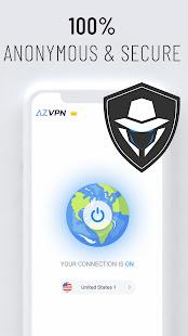 Az VPN Free Unlimited Proxy Private VPN Master v2.3.7 screenshots 5
